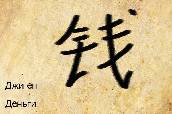 Фен шуй иероглифы и их значение