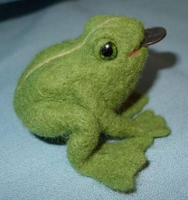 Лягушка талисман