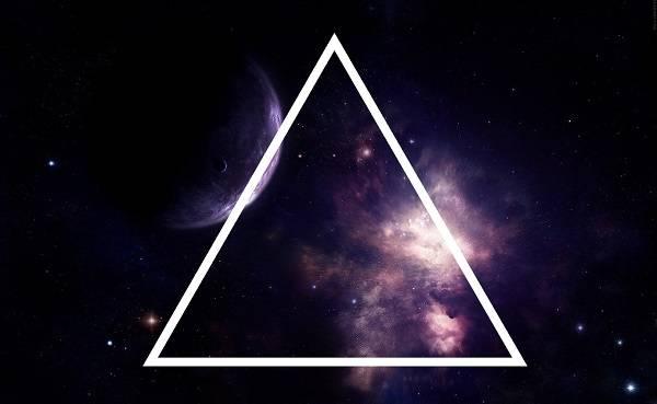 Треугольник символ значение