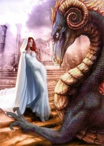Дева дракон женщина