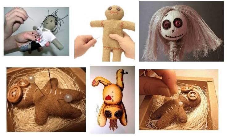 приворот жены на куклу вуду