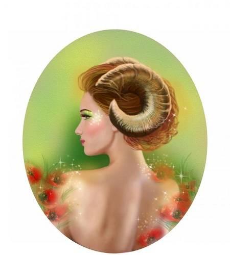 Жена овен