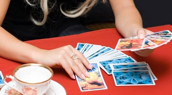 Гадание екатерины по трем карточкам
