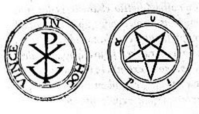 Что означает знак звезда в круге