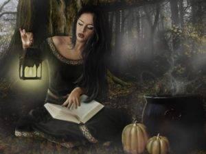 Ведьма на латыни