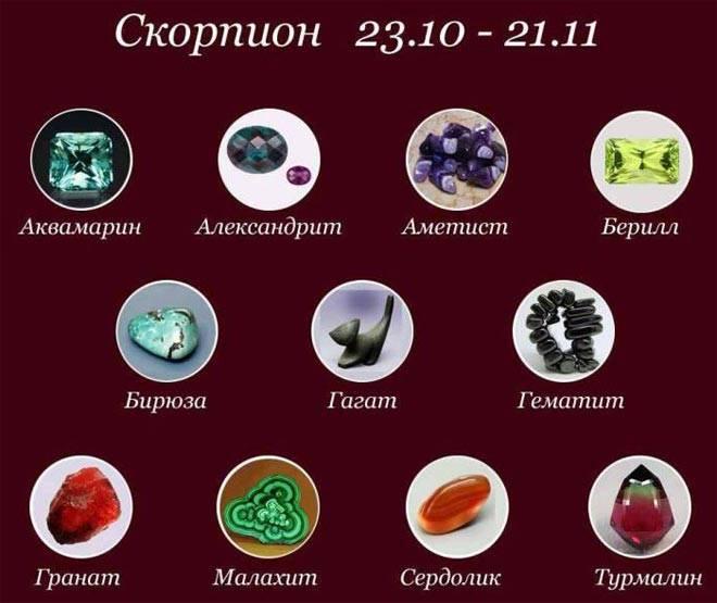 Скорпион камень