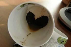 Кофейная гуща дракон