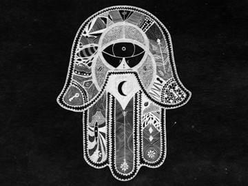 Символ ладонь