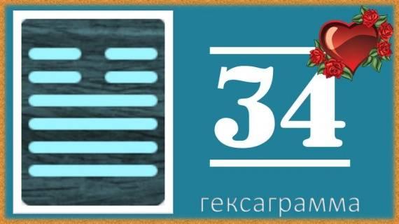 Гексаграмма 34