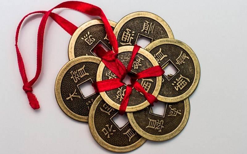 Китайские монетки для привлечения денег