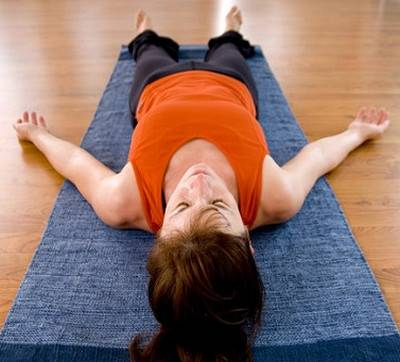 Йога для начинающих перед сном