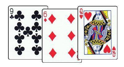 Сочетание игральных карт
