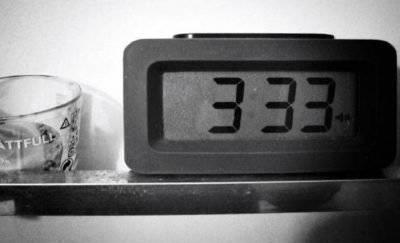 Повтор цифр на часах
