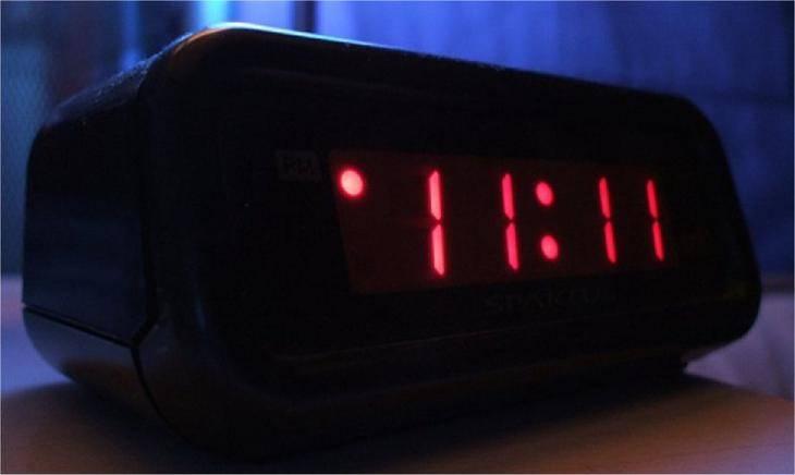 Что значит время увиденное на часах