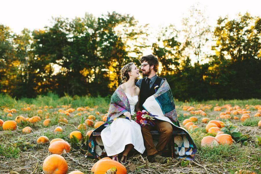 Свадьба осенью приметы