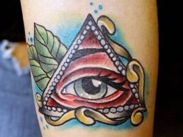 Всевидящее око тату значение символа