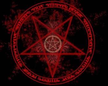 Пентаграмма дьявола как рисовать
