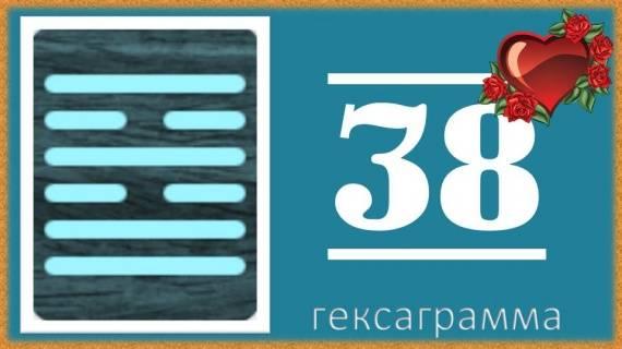 Гексаграмма 38