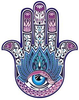 Рука бога символ