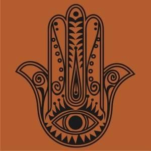 Рука еврейский символ