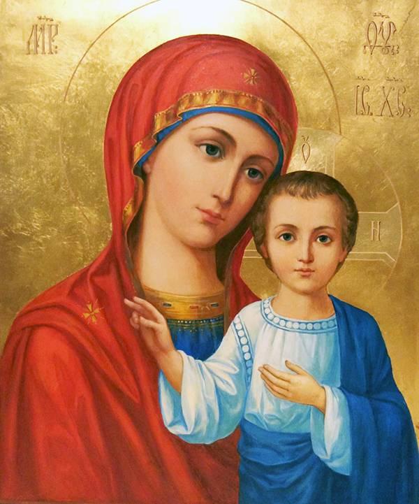 Молитва дева мария