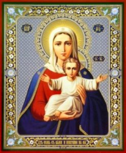 Молитва маме