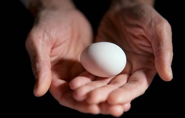 Снятие сглаза яйцом
