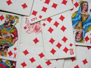 Гадание на любимого человека на игральных картах
