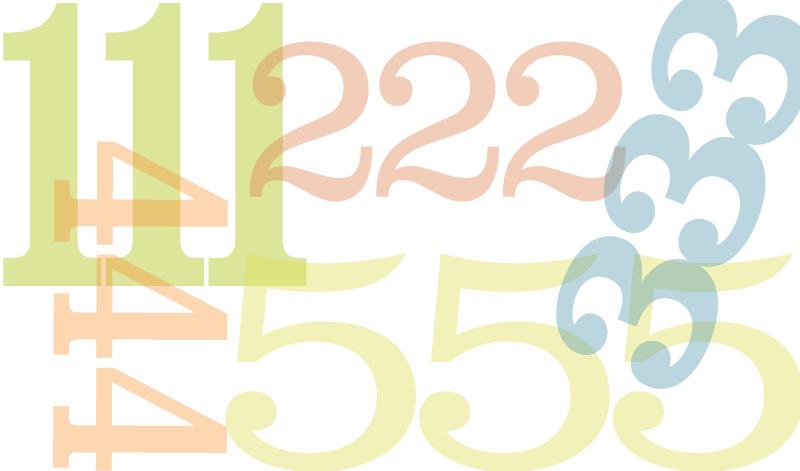 Повторяющиеся цифры на часах