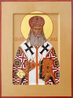 Святой лука крымский биография