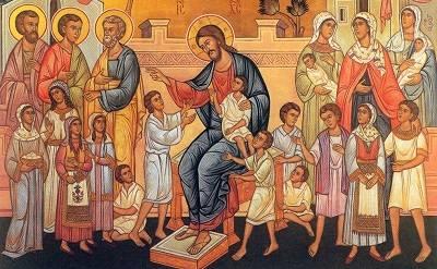 Очень сильная молитва о детях