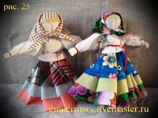 Кукла колокольчик своими руками