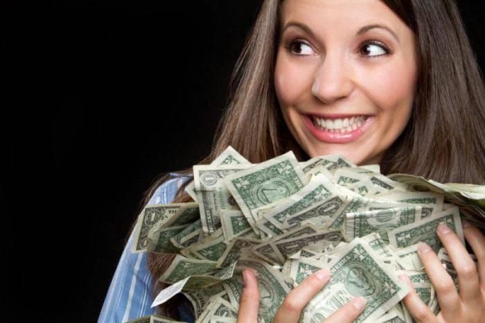 Цифры на купюрах притягивающие деньги
