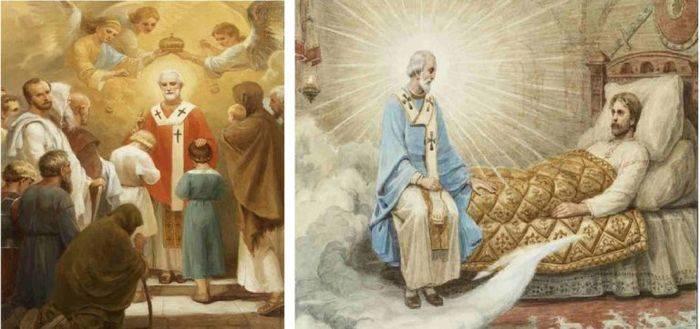 Благодарственный молебен николаю чудотворцу
