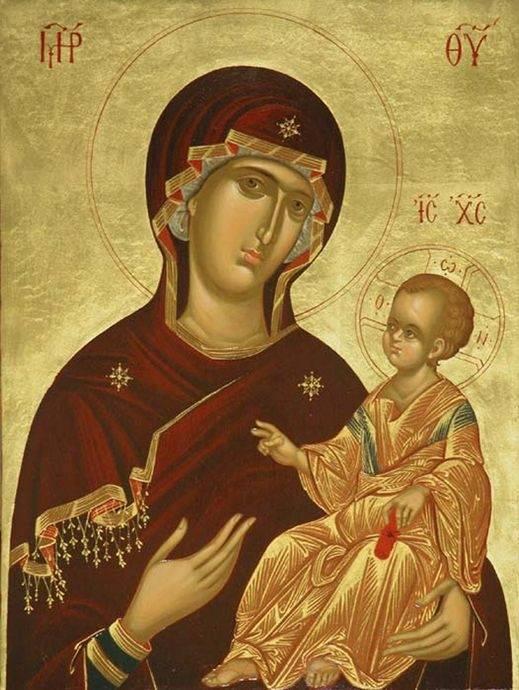 Смоленская божья матерь икона