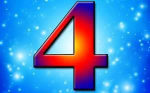Что означает цифра 4