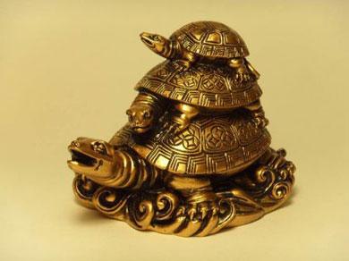 Кулон черепаха