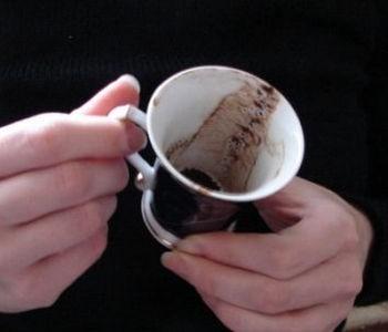 Гадание на кофейной гуще динозавр