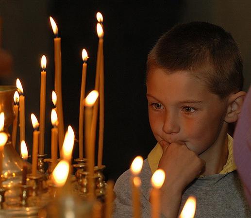 Родительская молитва за детей