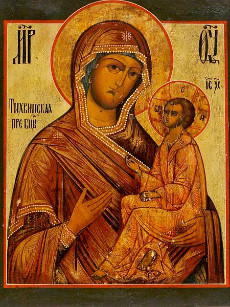Икона тихвинская божья матерь в чем помогает