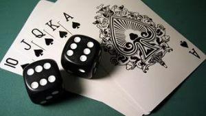 кости и игральные карты