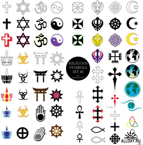 Знаки религий