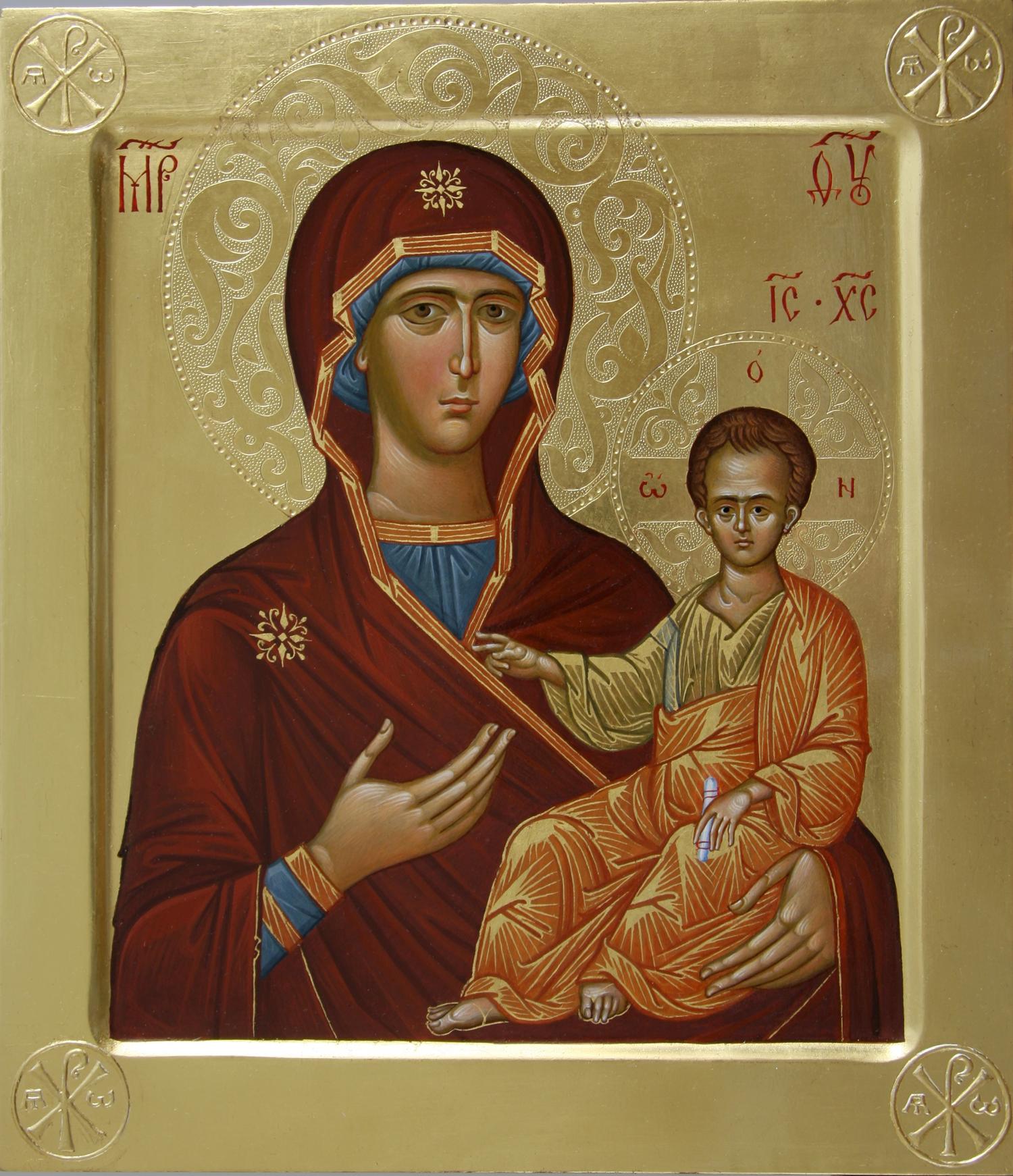 Смоленская икона божией матери одигитрия где находится
