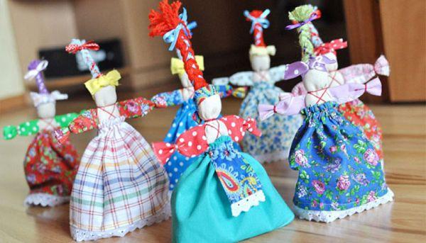 Куклы обереги своими руками для начинающих