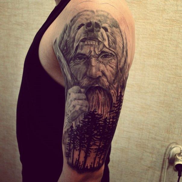 Велес татуировки эскизы