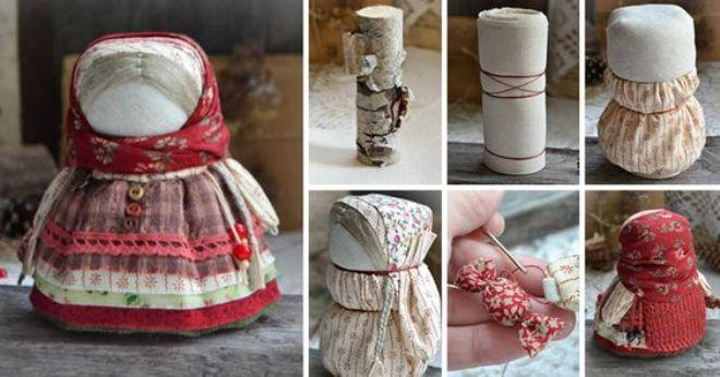 Куклы обереги своими руками из ткани