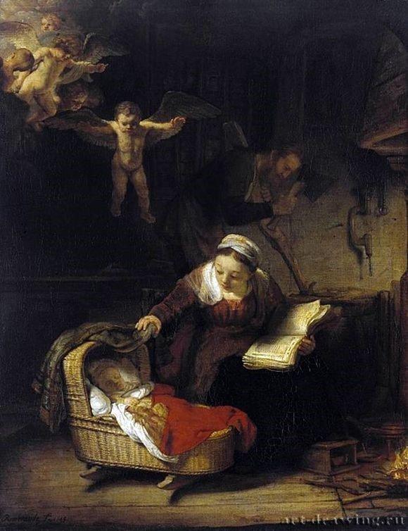 Картина святое семейство