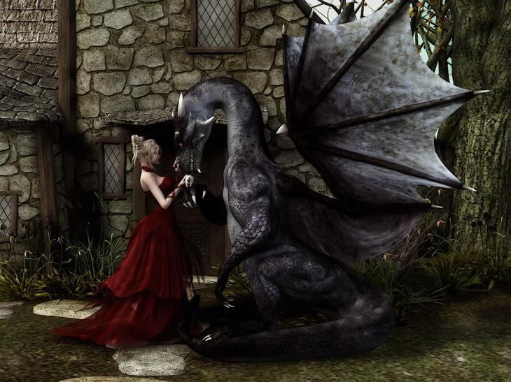 Телец дракон женщина